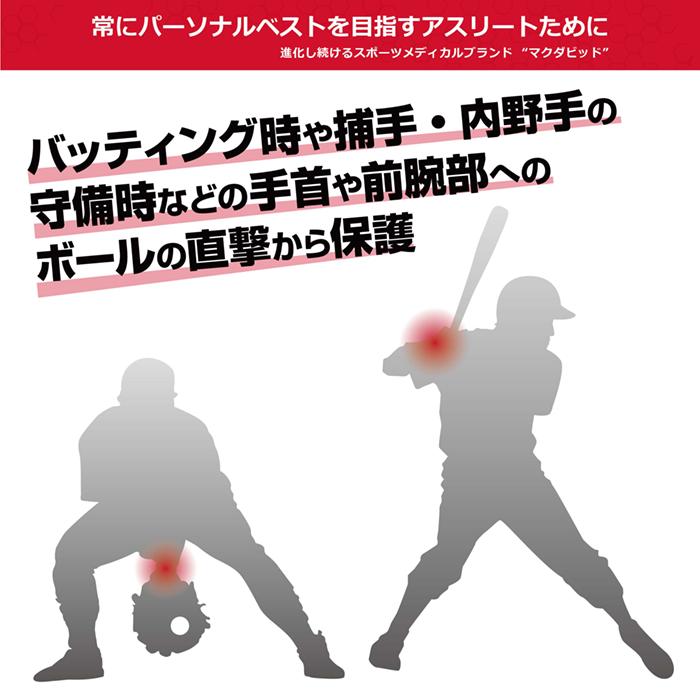 野球用手首ガード
