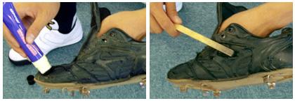 野球スパイクのメンテナンス方法03