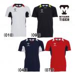 美津和タイガー 野球 Tシャツ BBシャツ 半袖 丸首 吸汗 速乾 カラーブロックシャツ KSREYS-001