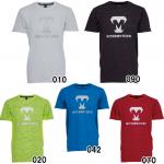 美津和タイガー 野球 ドライTシャツ 半袖 タイガープリント 丸首 吸汗 速乾 新ロゴ KSREYS-002