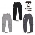 美津和タイガー 野球 快適スウェットパンツ ロンパン 薄手 トレーニング 新ロゴ PTREYS-004