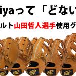 山田哲人選手使用グラブ「ドナイヤ」野球硬式、軟式グローブ