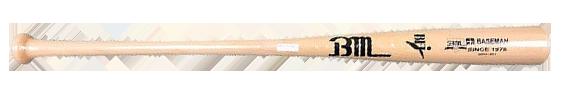 ベースマンオリジナルグラスファイバー硬式木製バット