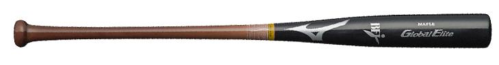 ミズノ 野球 硬式 木製 バット メイプル グローバルエリート 1CJWH136