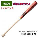 ザナックス軟式木製バット広島カープ松山選手モデル