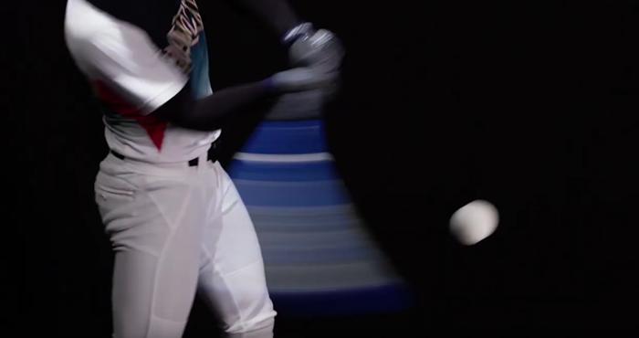 野球バットの逆しなり