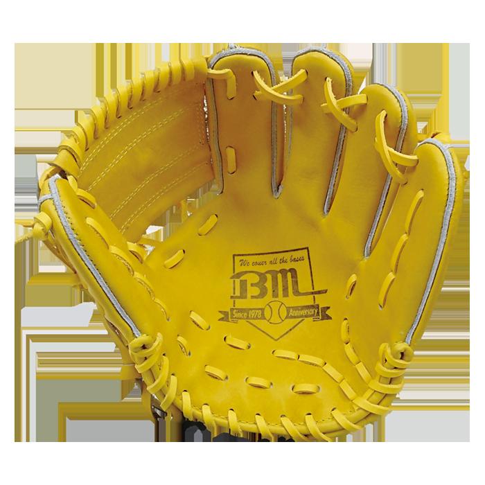 ベースマンオーダーグローブ内野手用セカンド・ショート向け(BM-46)受球面