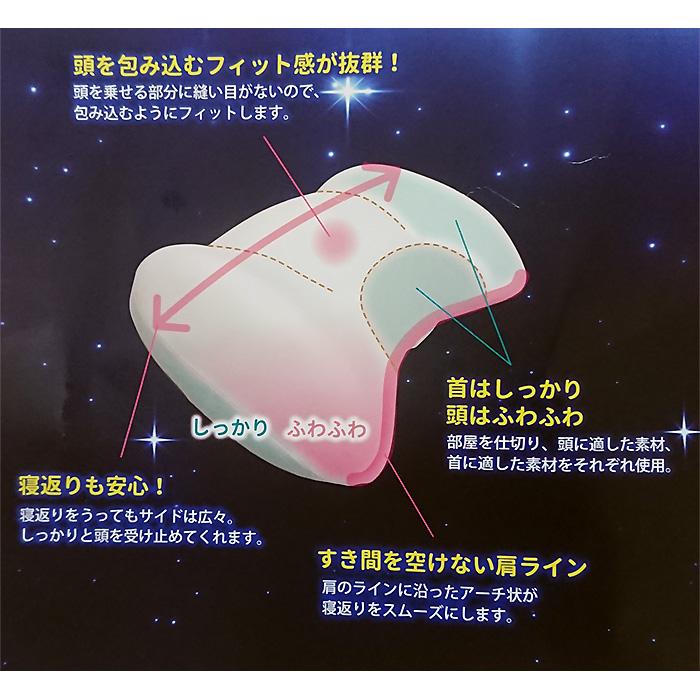 ユニバーサル枕の特徴