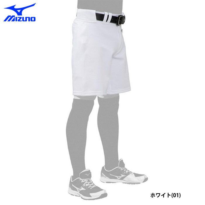 ミズノ 野球 ユニフォーム ハーフパンツ 夏用 熱中症対策 練習パンツ エアブロー 12JD0F5201