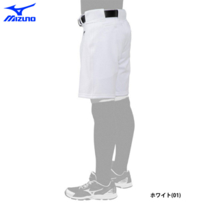 ミズノ 野球 ユニフォーム ハーフパンツ 夏用 熱中症対策 練習パンツ エアブロー 12JD0F5201斜め後ろ
