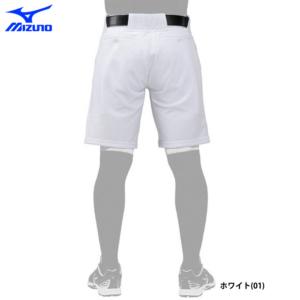 ミズノ 野球 ユニフォーム ハーフパンツ 夏用 熱中症対策 練習パンツ エアブロー 12JD0F5201後ろ