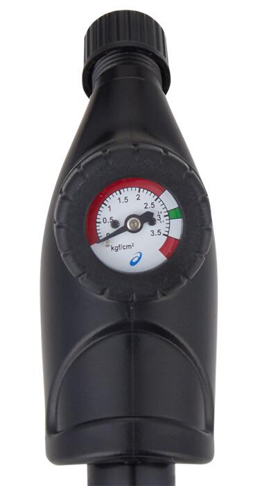 レガートゼロの空気ポンプのゲージ表示