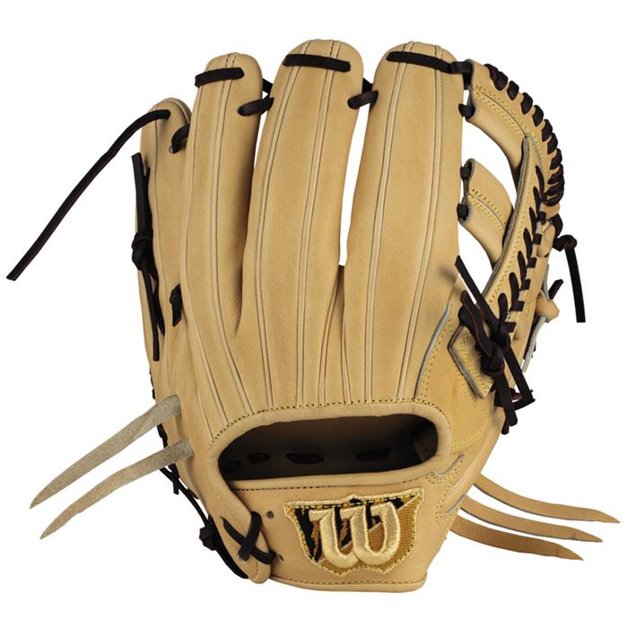 ウイルソン 硬式用グラブ 内野 ブロンド 高校野球対応 しっかりポケット サイズ7 D5型