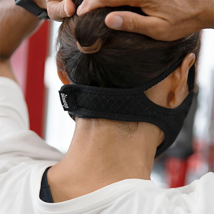 ブルイクマスクの首の後ろ側