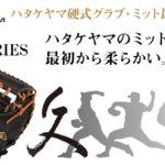 ハタケヤマ硬式キャッチャーミット グローブ「久シリーズ」